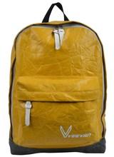 Carino giallo tela zaino di scuola superiore, immagini di borse e zaini scuola