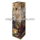 Handmade distressed wood wine box design