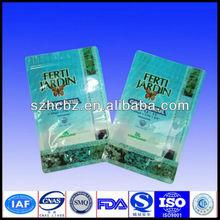 hot seal printing jute bag with zipper