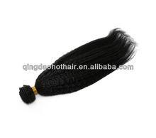 WholeSale Unprocess Russian Light Yaki Wigs Black Hair Braid