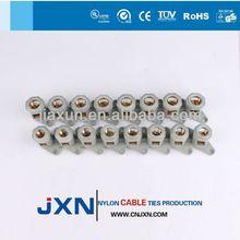 flat lug solderless crewel tube pre-insulation terminal
