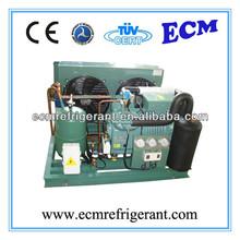 Cold Room Semi-hermetic Two-stage Compressor Condensing Unit