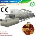 Microondas amendoim/porcas processamento de secagem/cozimento/máquina de assar