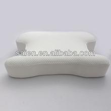 Supply soft memory foam travel pillow inflatable custom