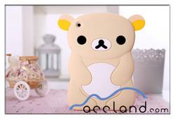 3D Animal Shape Silicone Case for iPad Mini Bear Case Cover