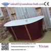 Freestanding bath iron tub stainless steel bathtub