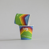full printed paper cups with PE coated food grade for tasting
