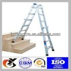 Aluminum Multipurpose Ladder/werner ladder/de aluminio