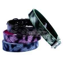 Fashion printing dog collar
