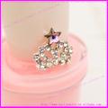2014 moda 3d de bricolaje de aleación de uñas de arte de la decoración corona de reina para salón de belleza de uñas