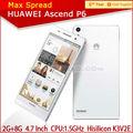 Stok huawei Ascend p6 4.7 inç incell ekran 2014 yeni model android cep telefonu