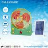 "9""inch solar fan & lighting system With radio"