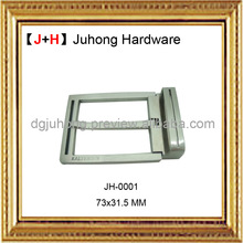 High quality zinc alloy Slide Leather Men Belt Buckle