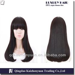 100% indian human hair bang/hair bun/hair band