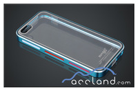 Aluminum metal bumper case for iphone 5 5S with crystal mobile back cover