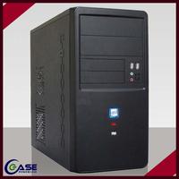 POP Custom Clear micro atx pink computer case
