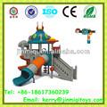 Playground jogos, Plástico balanço e escorrega, Residencial de plástico ao ar livre equipamentos de Playground JMQ-12126