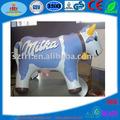 El más reciente de la vaca inflable modelo, publicidad inflable de la leche de vaca modelo
