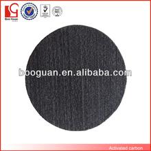 Black activated carbon filter sponge