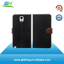 Branded two mobile phones leather case