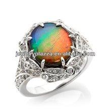 925 Silver Zircon Ring,Fashion Fine Jewelry