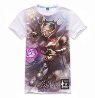 DOTA Razor t shirt xxxl white heroes Gamer t shirt