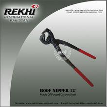 Hoof Nipper farrier tools red plastic grip veterinary instruments,Cattle Hoof Nippers