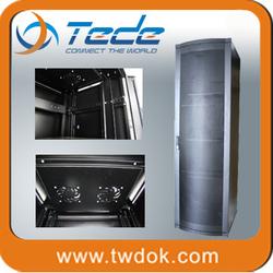TEDE 42u luxury toughened glass network cabinet(racks)