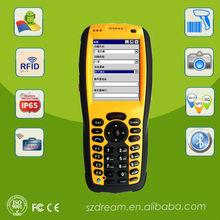 handheld data terminal, IP 65, ISO 14443, barcode scanner WiFi,3G