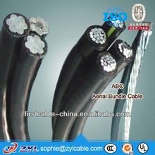 Duplex Triplex Quadruplex Service Drop, Overhead XLPE Insulated Aluminum Wire