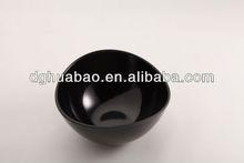 factory directly supply jade porcelain three irregular blue diamond melamine dish