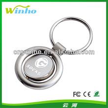 Rotating Key Ring - Circle