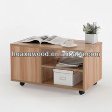 HX140111QM-559 with wheels coffee table