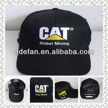 cotton brushed baseball cap Custom logo Baseball cap and hat