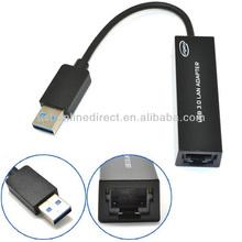 USB 3.0 10/100/1000Mbps Gigabit Ethernet RJ45 External Network Card Lan Adapter