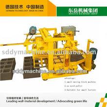light white brick making machine QT40-3A concrete hollow block machine