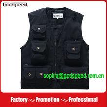2014 Photography vest/100% cotton fishing vest