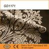 140CM width European popular coffe color jacquard fabric curtains