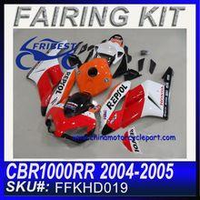 Marc Marquez MotoGP Champion 2013 New REPSOL ABS fairings For Honda CBR1000RR 2004 2005 FFKHD019