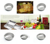 Recyclable Environmental Rectangular Pollution-free Convenient Disposable Aluminum Foil Trays of item no.12250