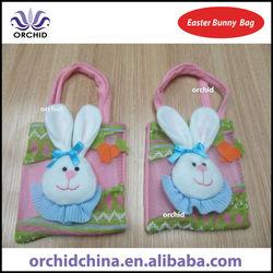 15x16cm Non-woven Easter Bunny Bag