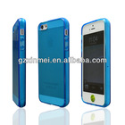 Crystal Transparent Cover Case Soft Silicon Fit for iPhone 5 5G 5S Welcome OEM