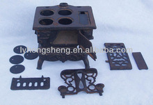 cast iron cook stove parts of precision casting