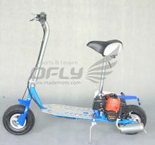 China CE folding gas scooter with mini chopper 43cc engine