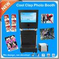 Portátil de la carpeta 3d photo booth para ir de compras centro comercial de la promoción comercial& ad
