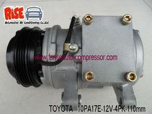 10PA17E aircon auto compressor for Toyota