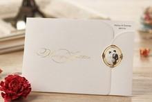 New wedding card & New design invitation card & fancy e card wedding invitation lcd video greeting card