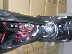 very fashional custum logo Golf Staff Bag With Elegant Design, black Color BMW Golf Bag R101