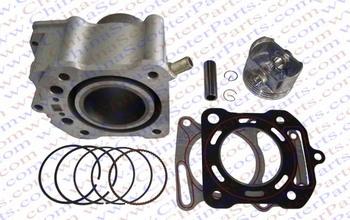 63.5mm Cylinder Piston Ring Gasket Kit Water 200CC Zongshen Shineray Bashan Dirt Pit bike