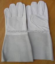EN 407/ EN 388 / CE Approved welding gloves Goat Leather